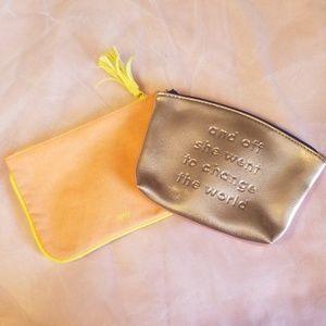 2/$6 NWOT ipsy Makeup Bags
